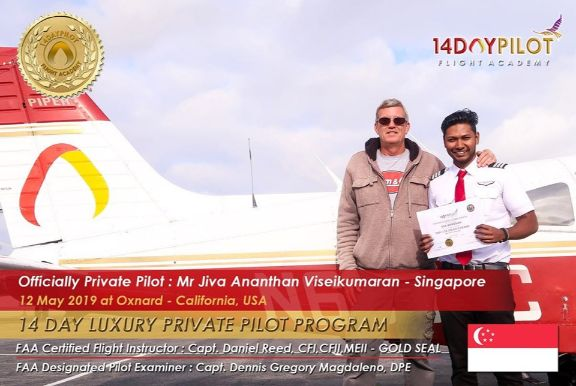 Learn How To Become A Private Pilot In 14 Days - Jiva Ananthan