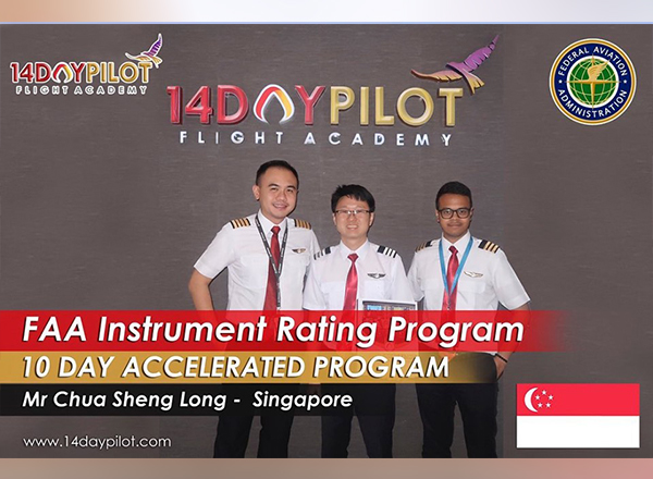 Accelerated flight training in California